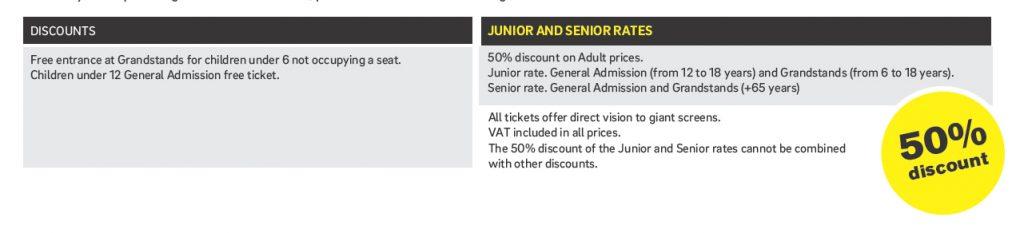 Buy MotoGP tickets in Circuit de Barcelona-Catalunya