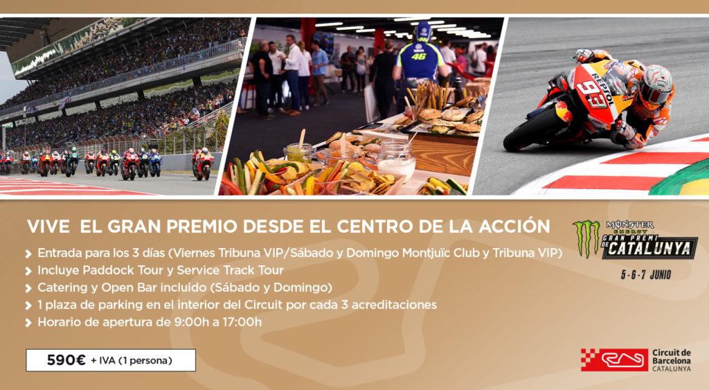 Información Montjuïc Club MotoGP 2020